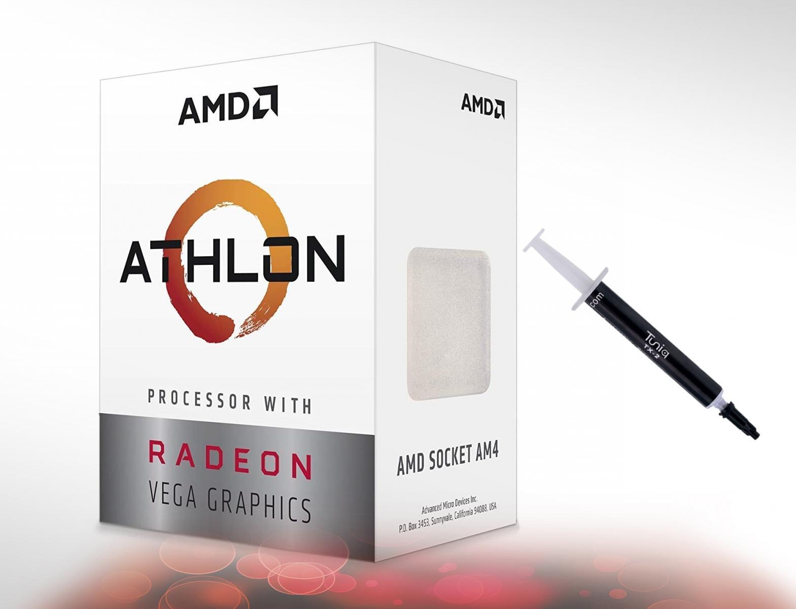 Photo of Athlon 200GE 2-Core 4-Thread AM4 Ryzen-Vega APU.In Box, great