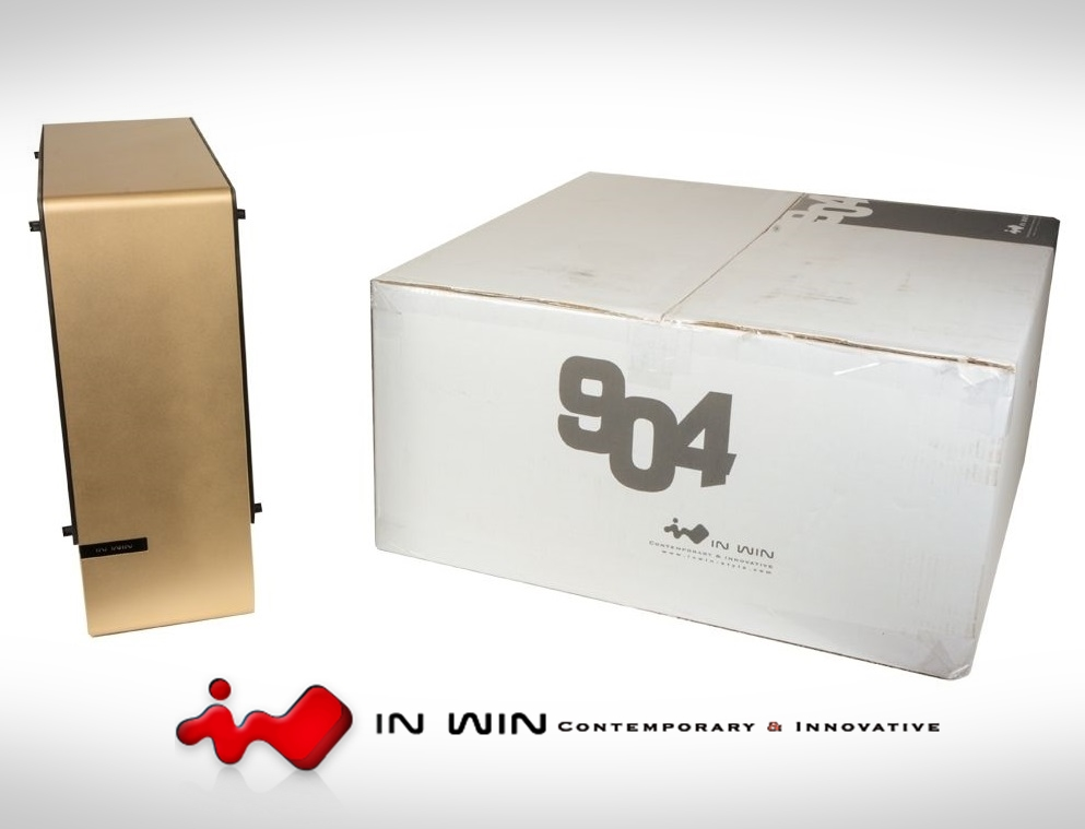 Photo of In Win 904 GOLD ATX Special Edition Aluminum Case.New-Open Box.RARE-Local.