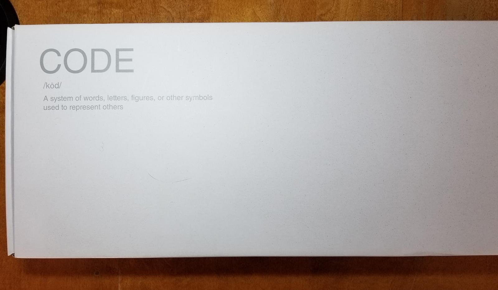 Photo of WASD CODE mechanical keyboard (Cherry MX Brown) like new!