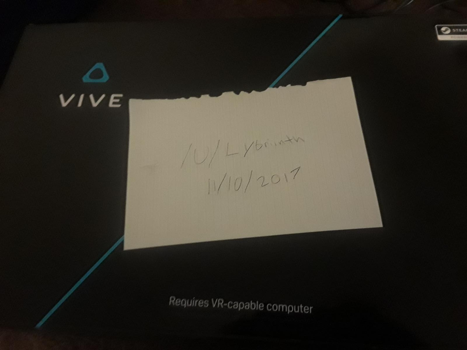Photo of HTC Vive Complete for sale