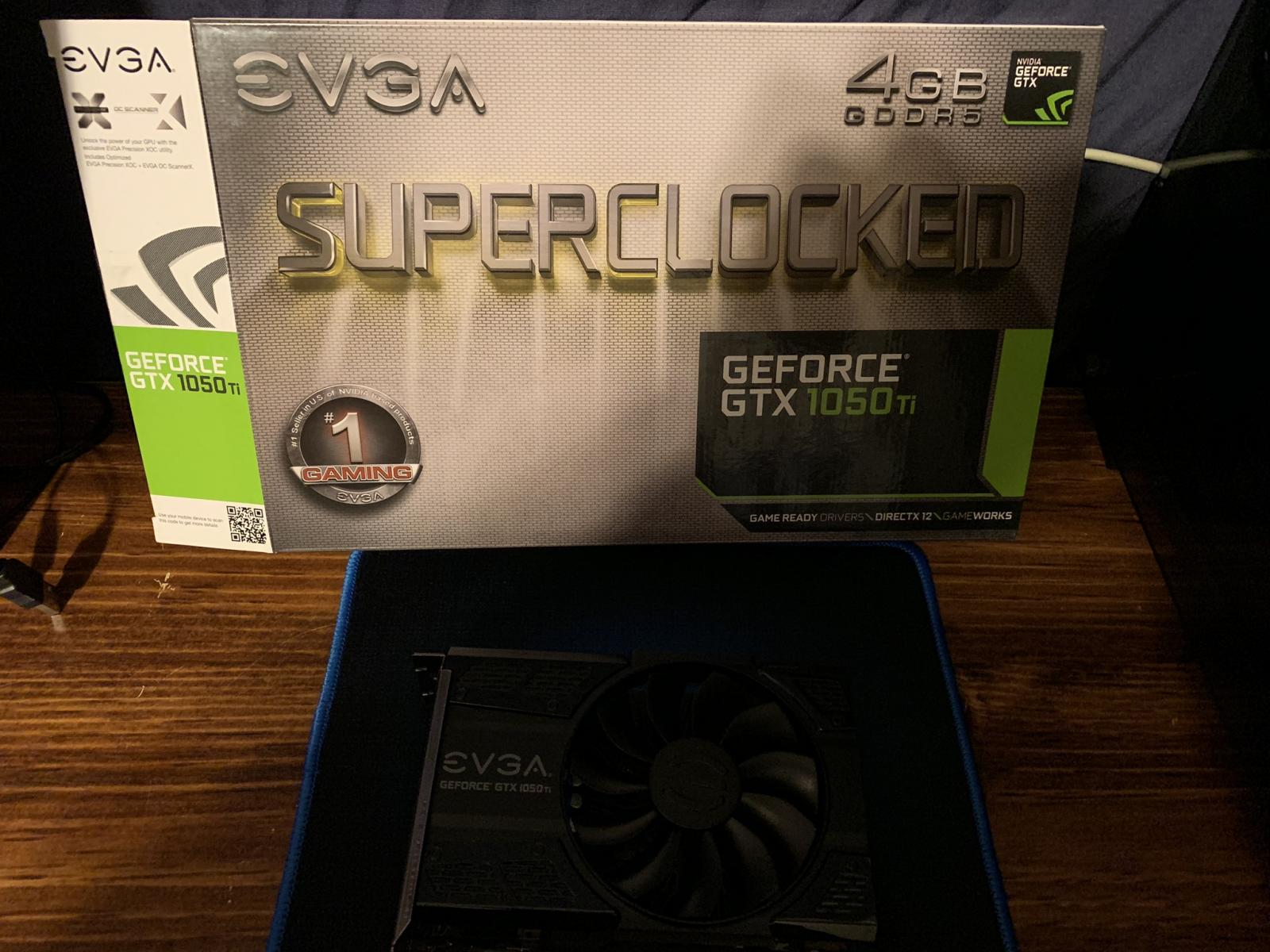 Photo of XFX RX 580 8GB & Evga 1050 TI 4GB superclocked