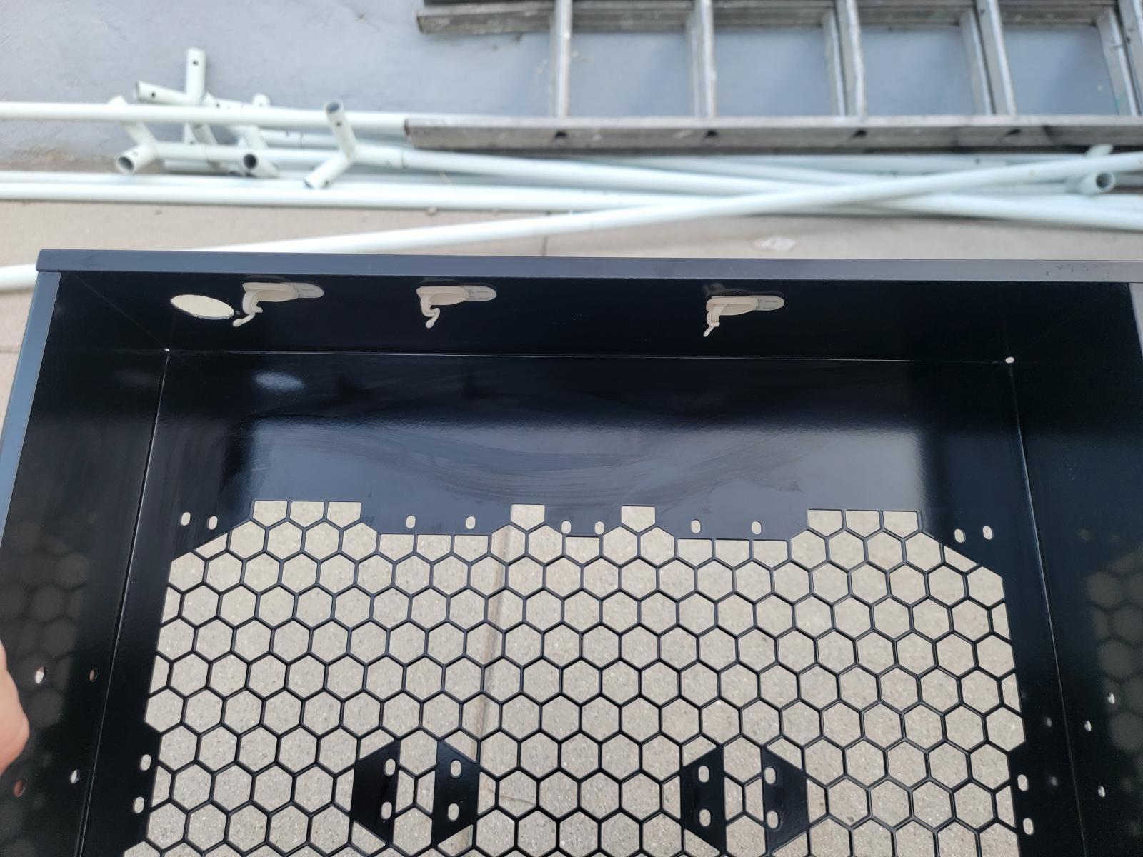 Photo of Phobya external radiator mount and stand