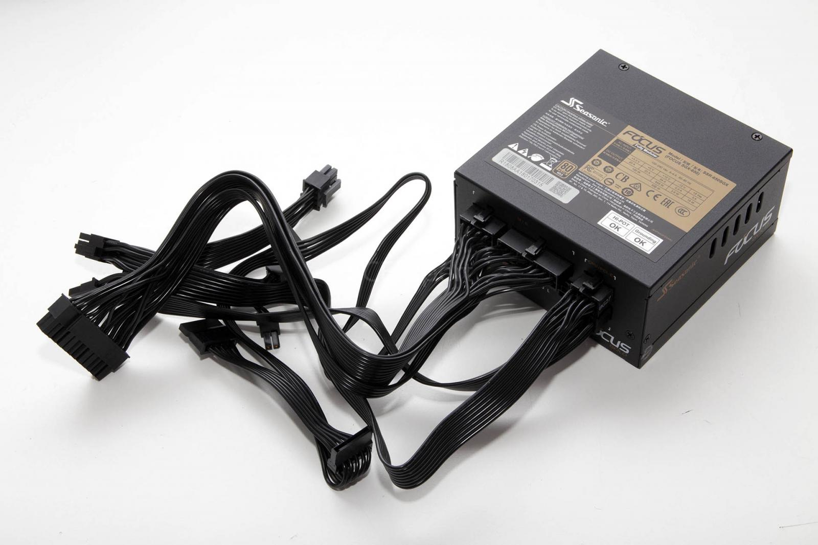 Photo of Seasonic 650w SFX-L Power Supply,MINT! + 120mm Static Pressure PWM Fan