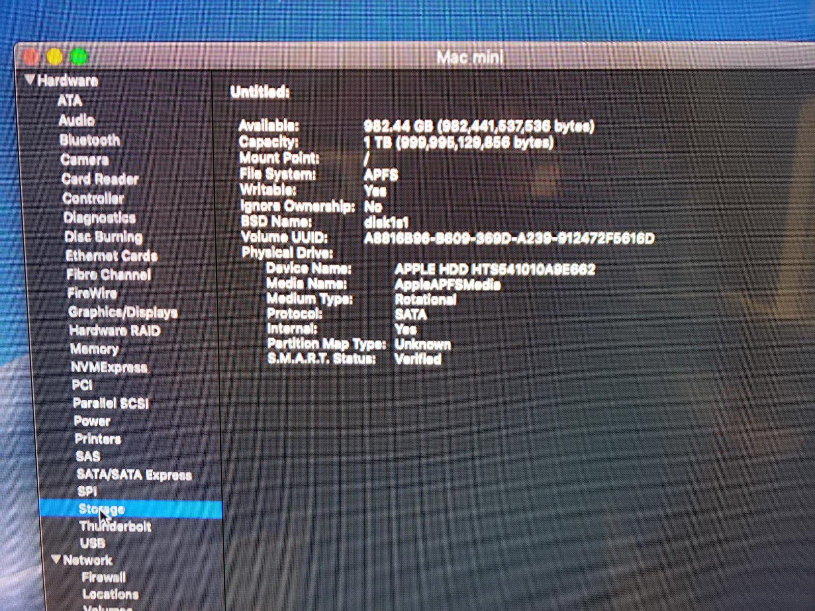 Photo of Mac Mini 2.6GHz Late 2014