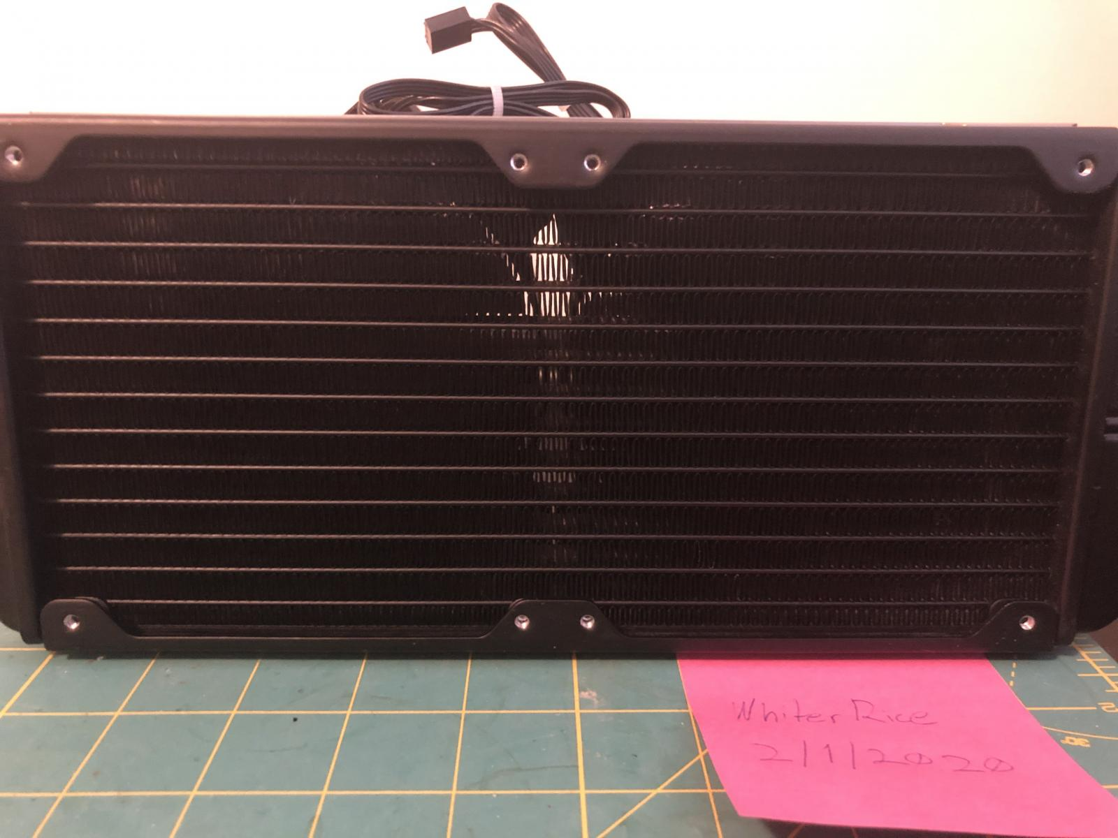 Photo of Used Corsair Hydro Series H100i V2 Extreme Performance Water / Liquid CPU Cooler