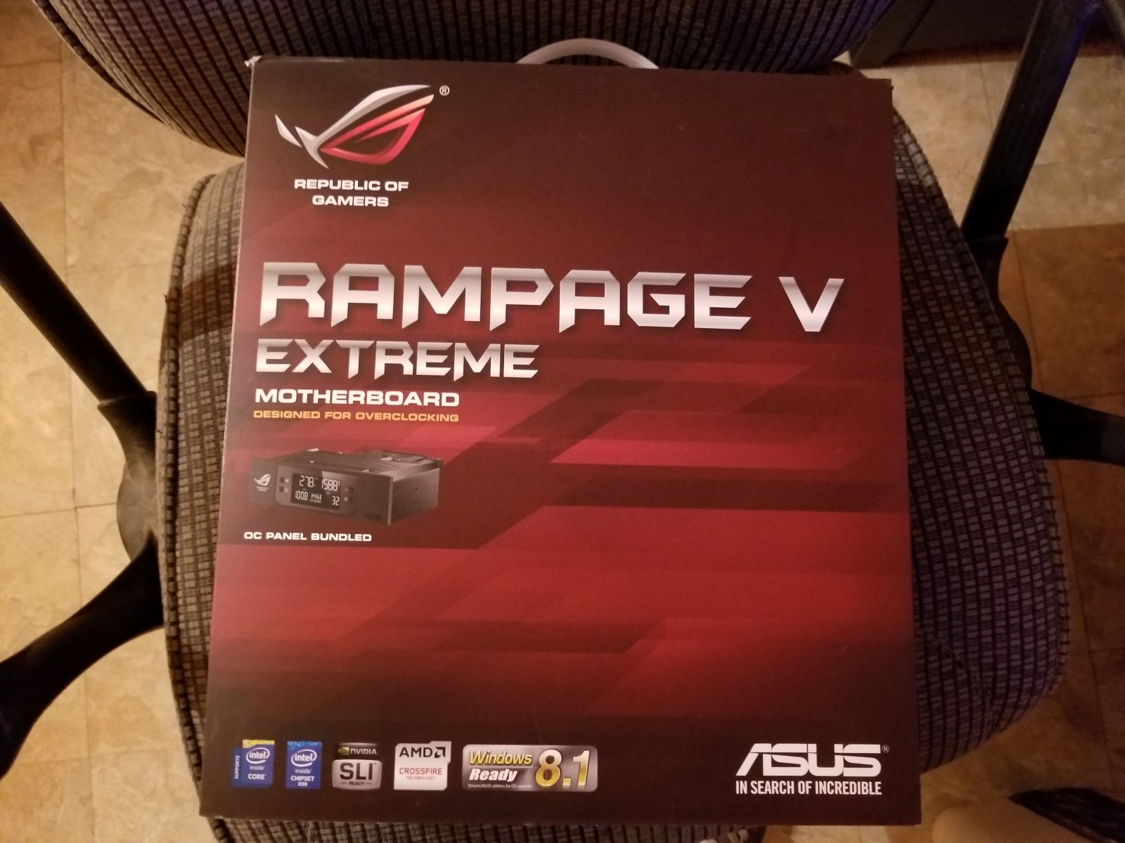 Photo of Asus Rampage V Extreme new