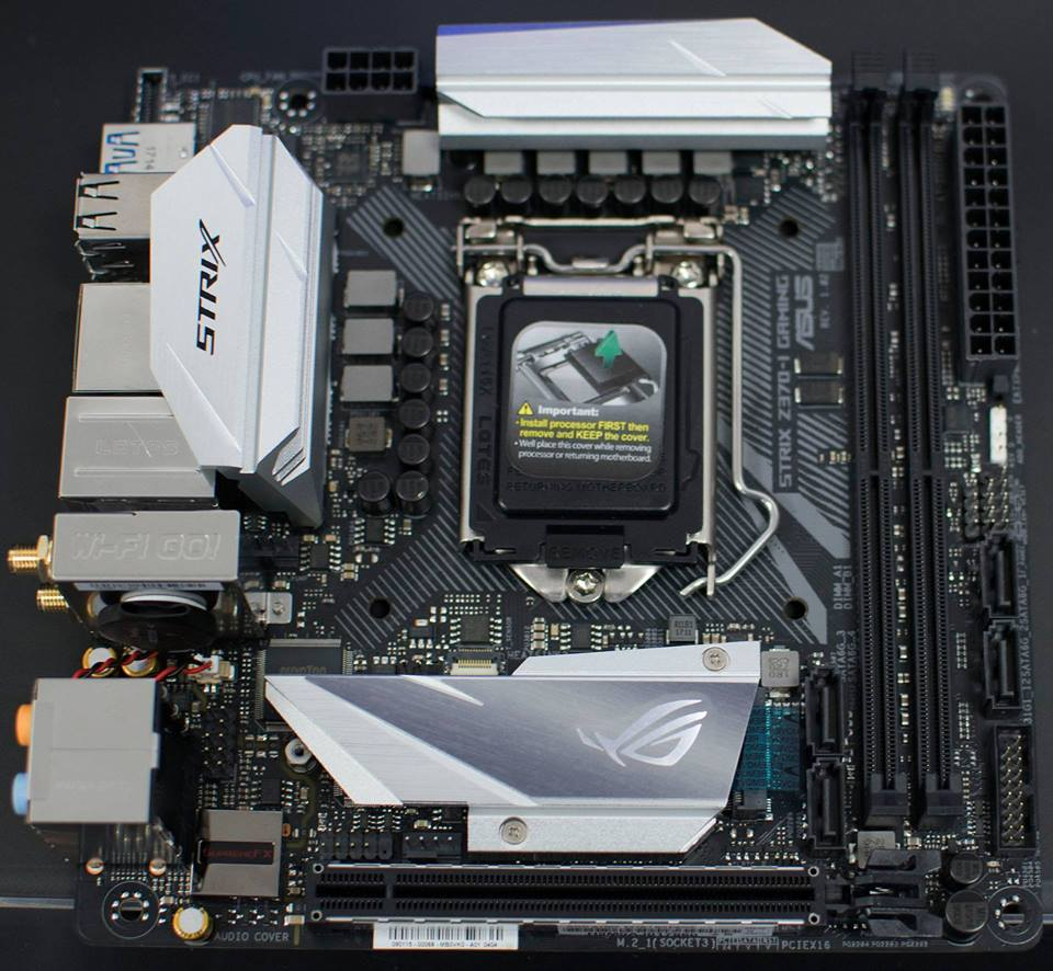 Photo of ASUS RoG STRIX Z370-I Motherboard