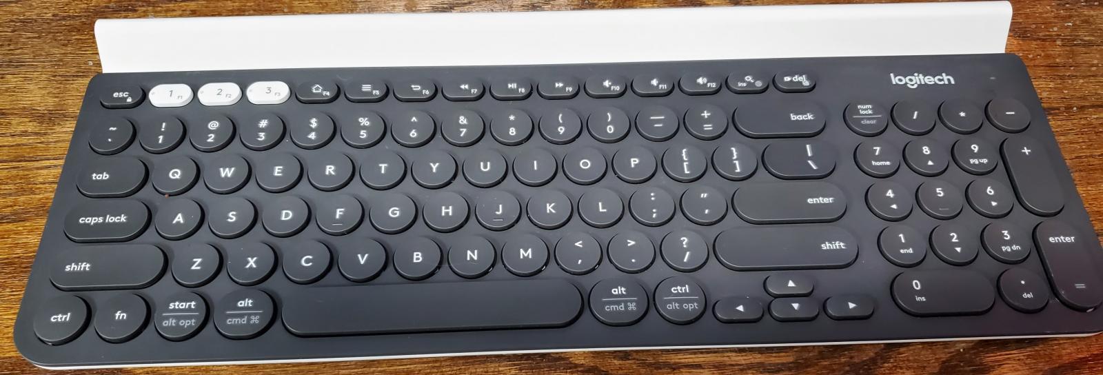 Photo of Logitech K780 Multi-device Bluetooth/2.4ghz wireless Keyboard
