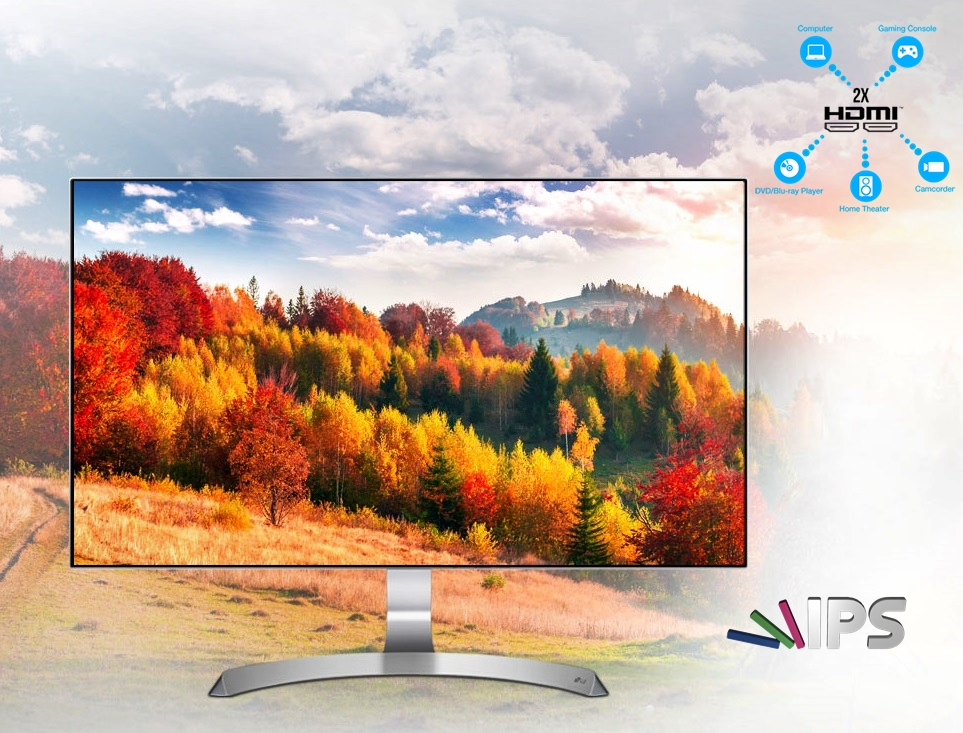 Photo of LG 27MP89HM-S Ultra Slim Bezel 1080p Freesync 75hz IPS 27