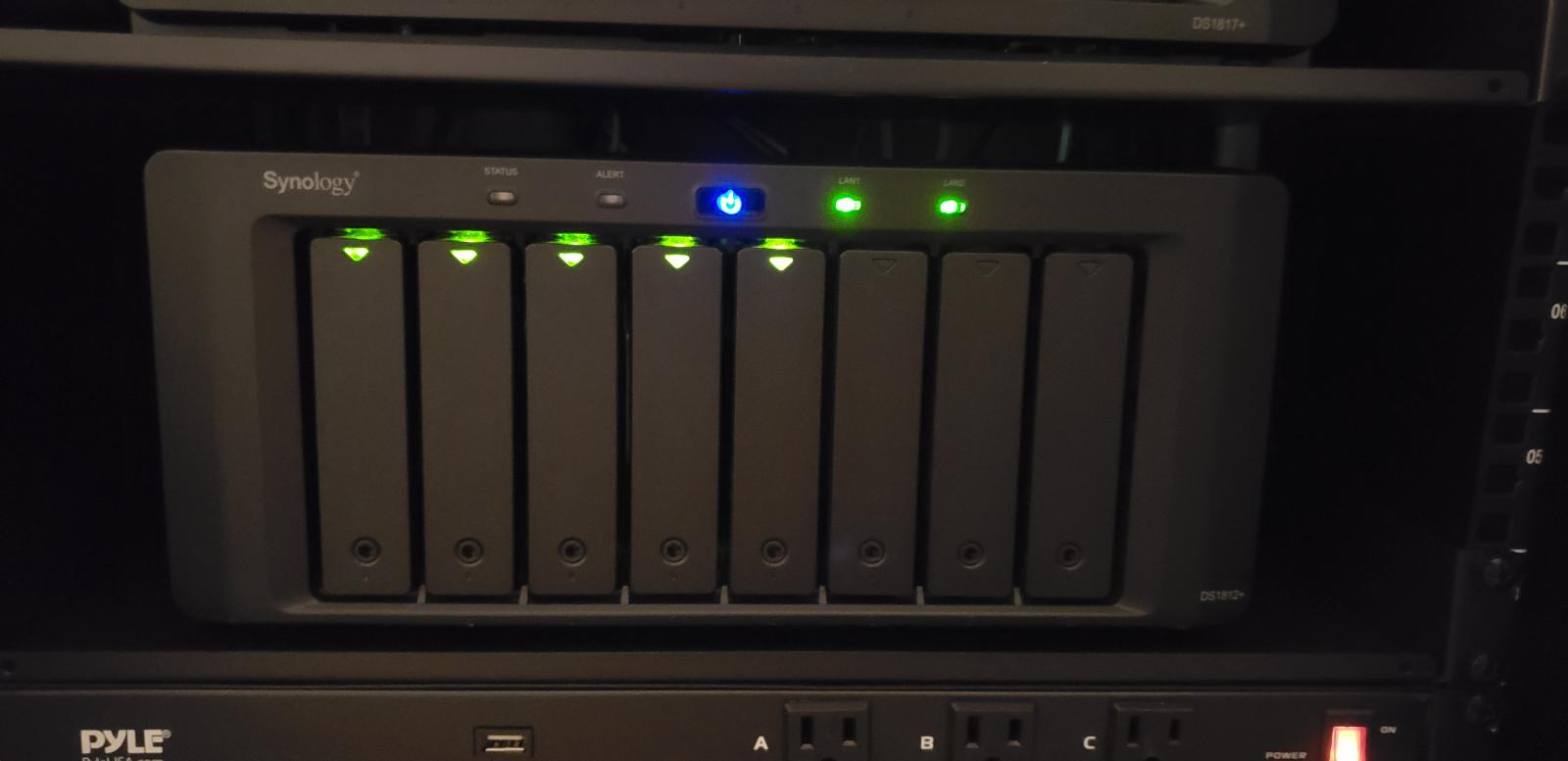 Photo of Synology DiskStation 1812+ 8-bay NAS appliance (3GB RAM)