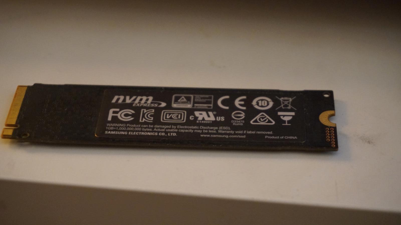 Photo of Samsung 970 EVO 500GB - NVMe PCIe M.2