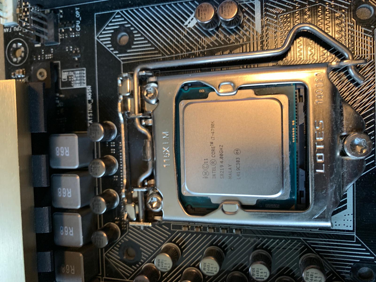 Photo of Intel i7-4790k