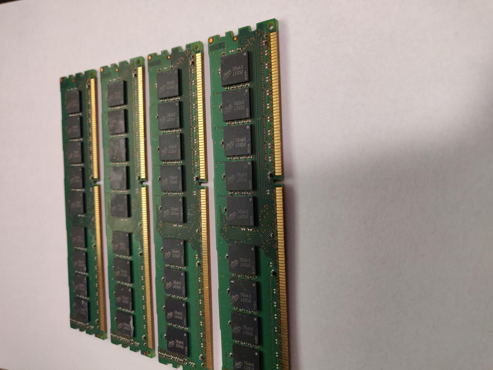 Photo of 16GB (4X4GB) DDR3 ECC workstation memory