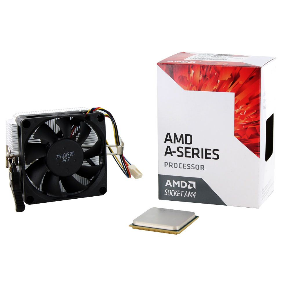 Photo of AMD A8-9600 Bristol Ridge AM4 Quad-Core 3.1 GHz 65W APU.Great!