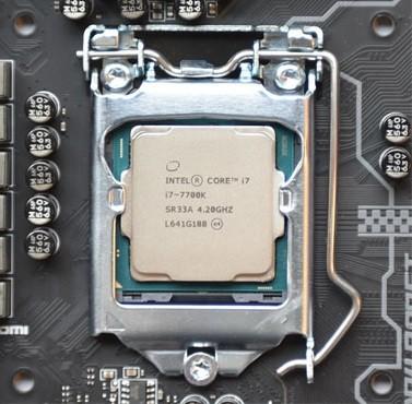 Photo of Intel Core i7-7700K