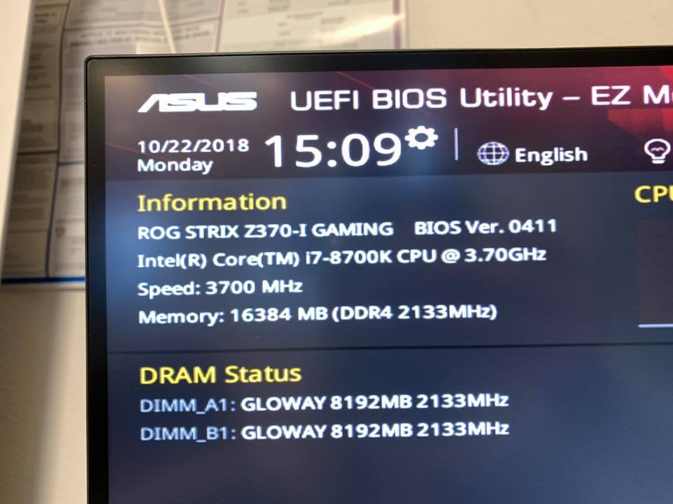 Photo of i7 8700k 1080 4K VR Gaming PC