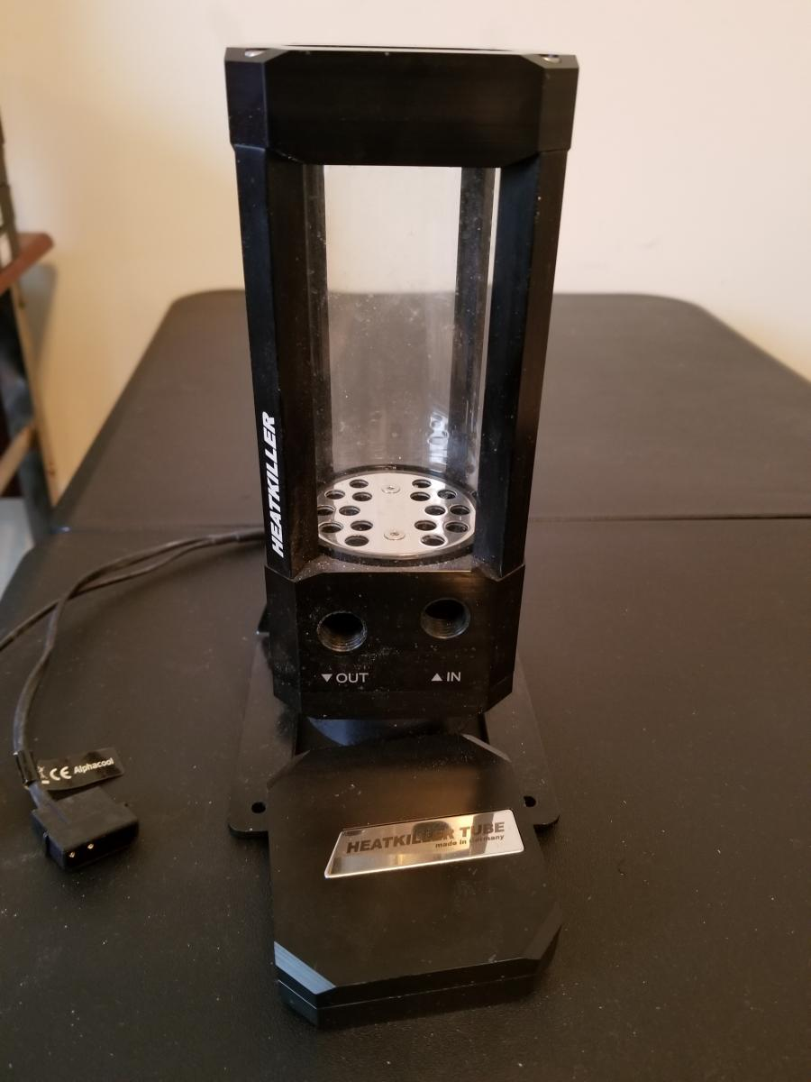 Photo of Custom Water Cooled loop willing to part out