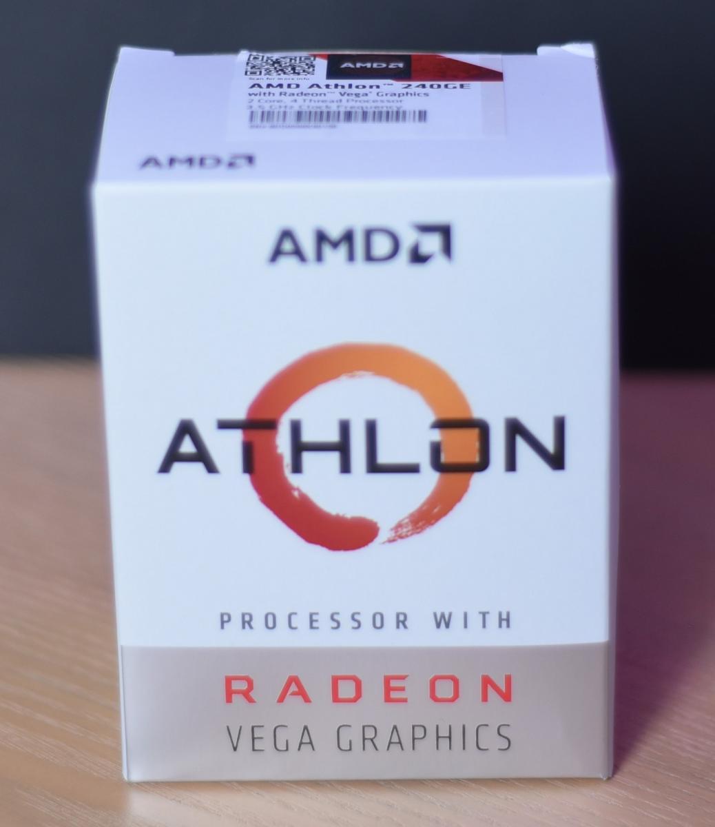 Photo of AMD Athlon 240GE Processor