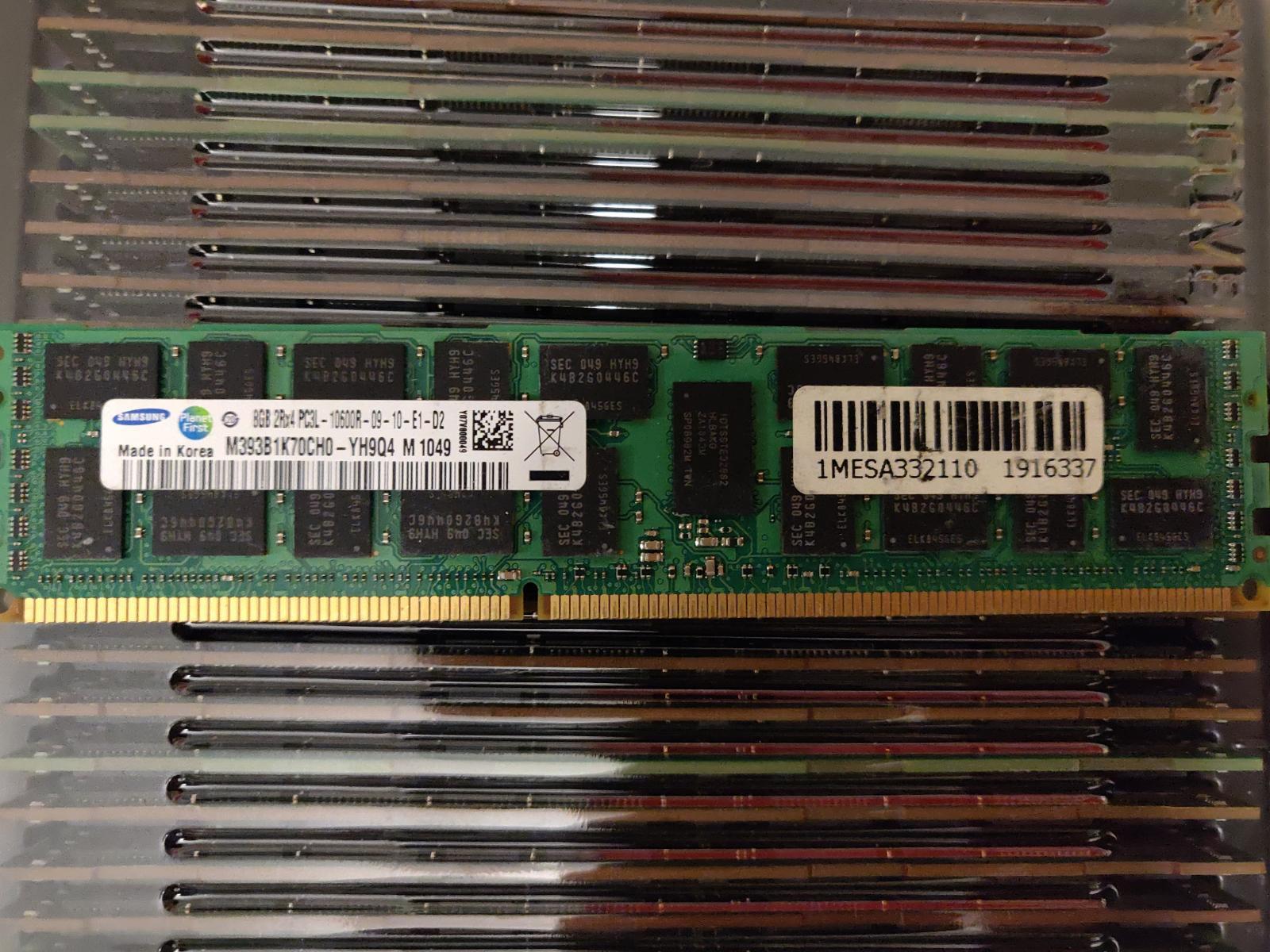 Photo of 8GB DDR3 ECC SERVER RAM Memory Sticks