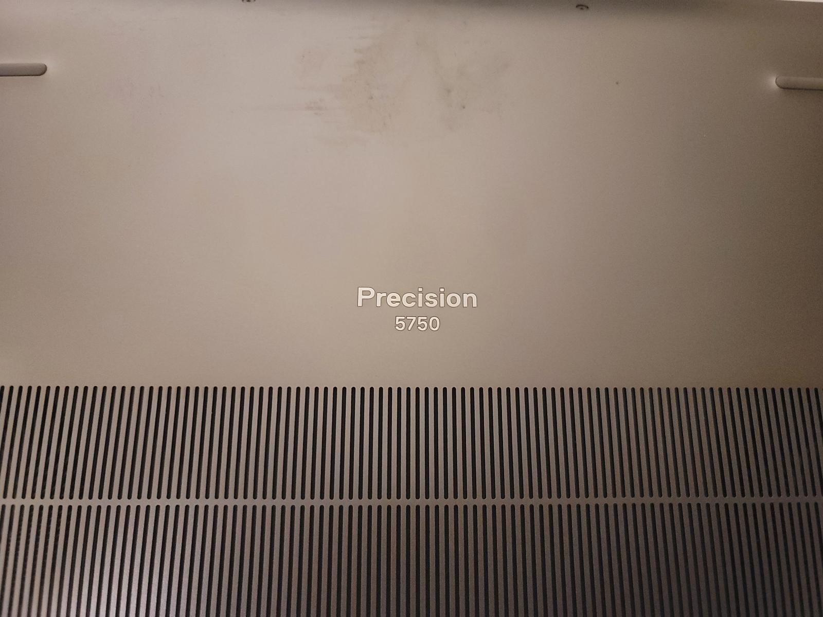 Photo of Dell Precision 5750 i7 SN:6Q0SW93