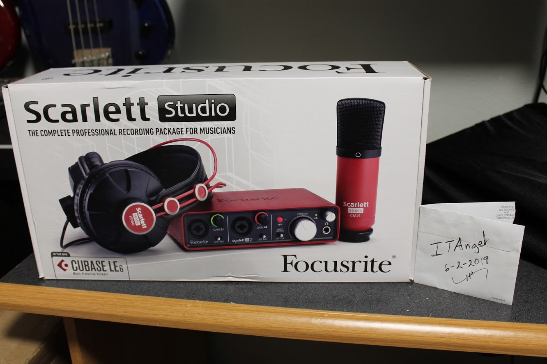 Photo of Focusrite Scarlett Studio Bundle