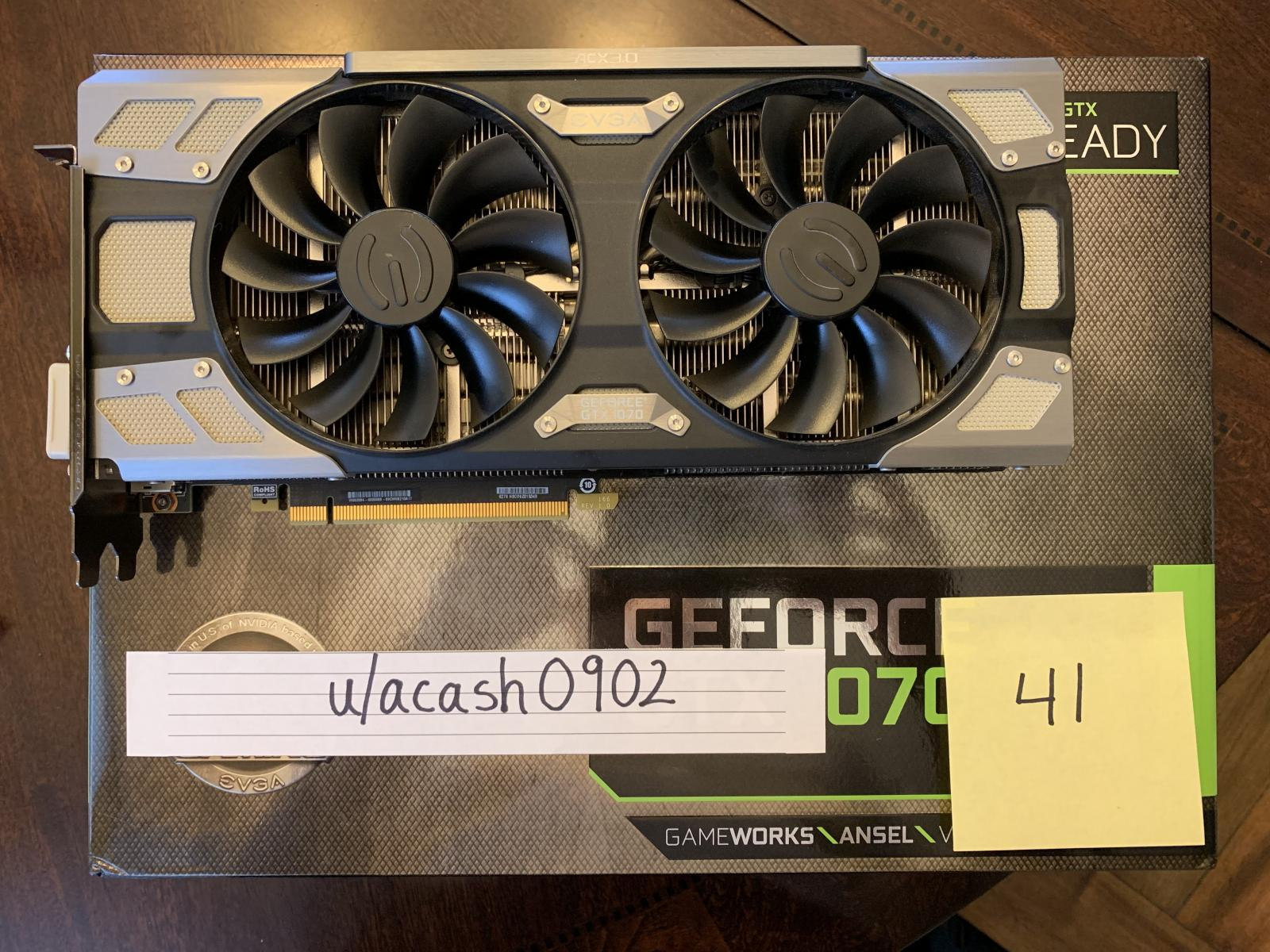 Photo of EVGA GeForce GTX 1070 FTW GAMING ACX 3.0, 08G-P4-6276-KR, 8GB GDDR5, ACX 3.0 & R