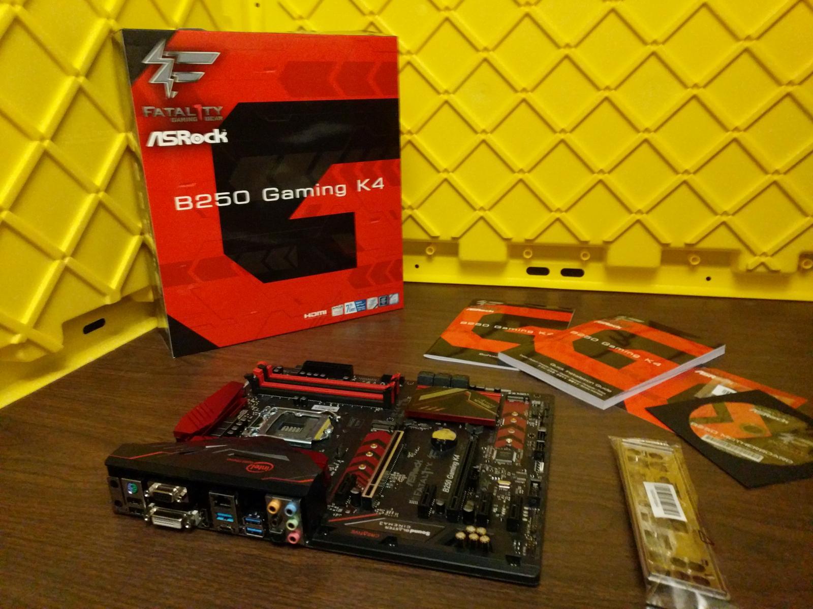 Photo of ASRock B250 Gaming K4 Motherboard