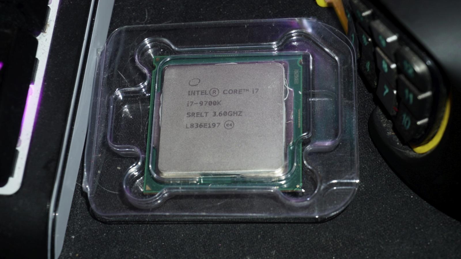 Photo of Intel i7-9700k