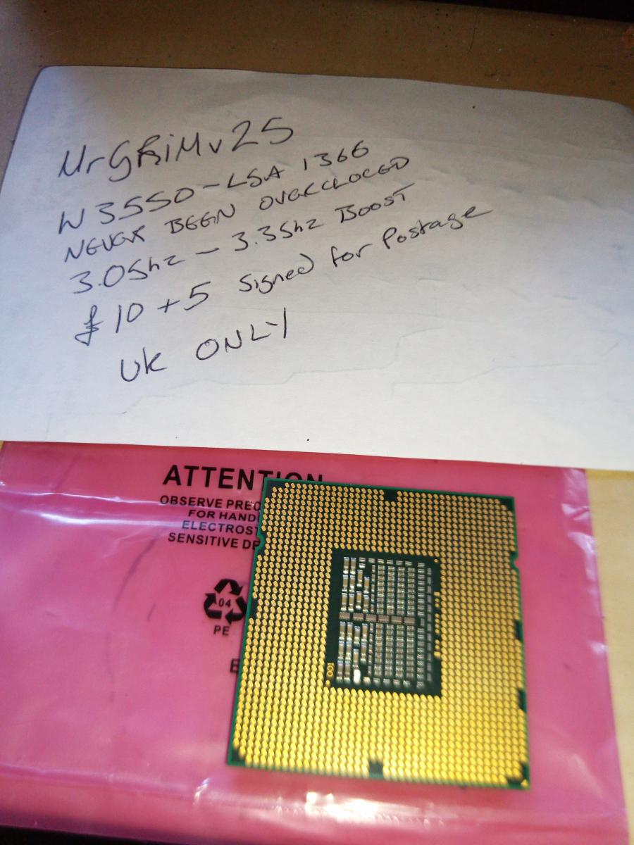 Photo of Intel Xeon W3550 LGA 1366