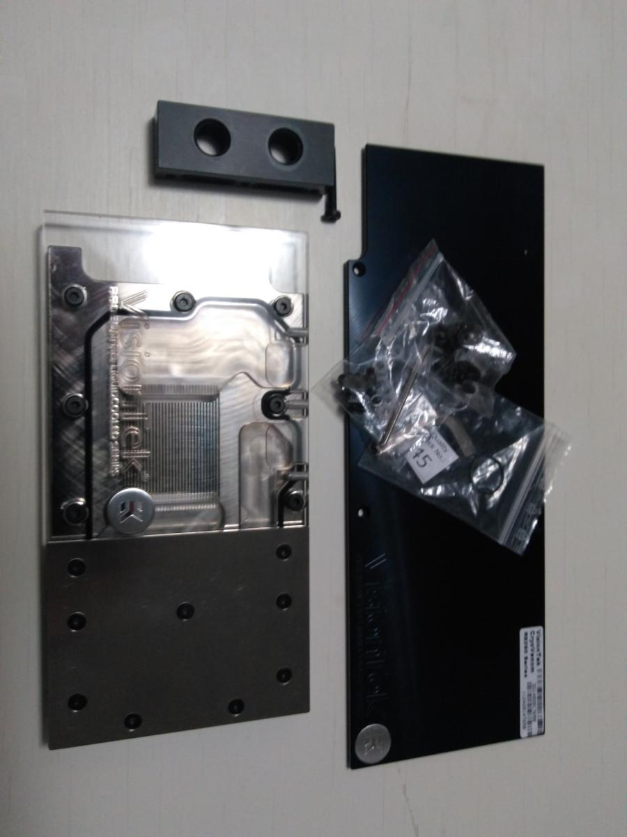 Photo of R9 290X EK waterblocks 3 available, one clear