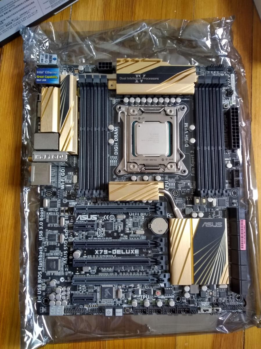 Photo of Hexacore desktop kit - i7-4930k, Asus x79 deluxe mobo, 16GB RAM, Noctua Cooler.