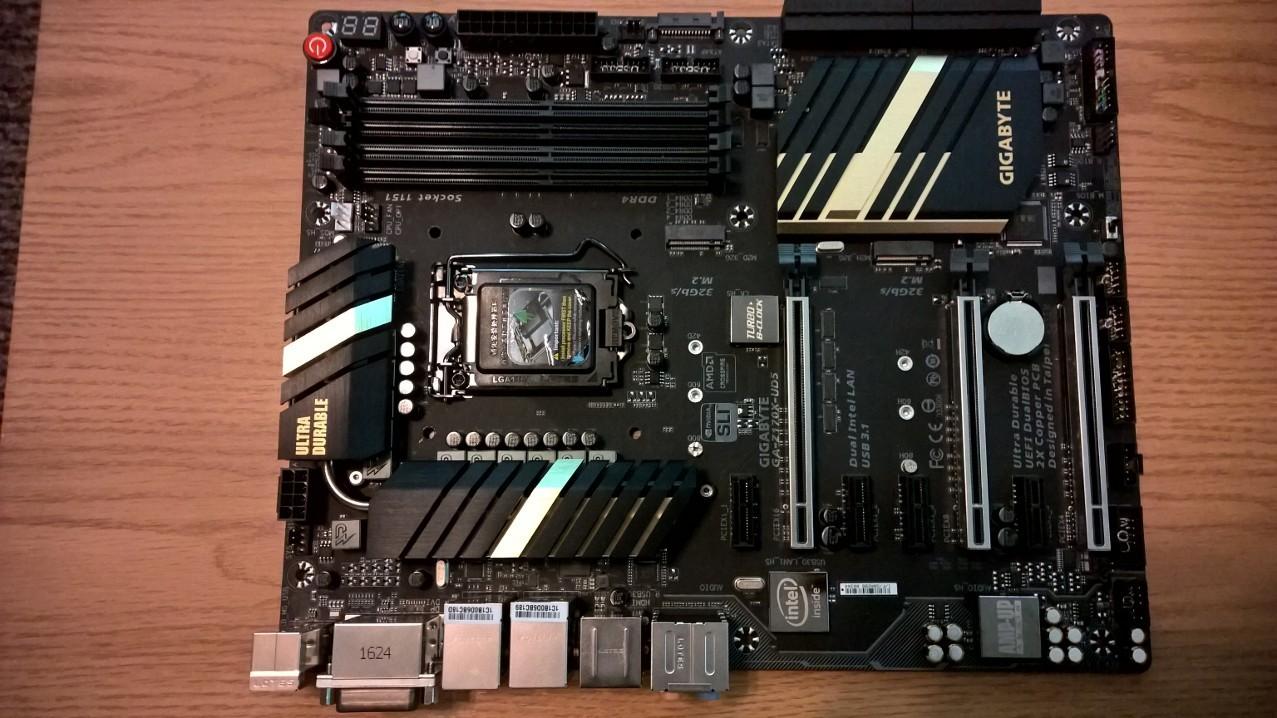Photo of GIGABYTE GA-Z170X-UD5 (rev. 1.0) Intel LGA 1151