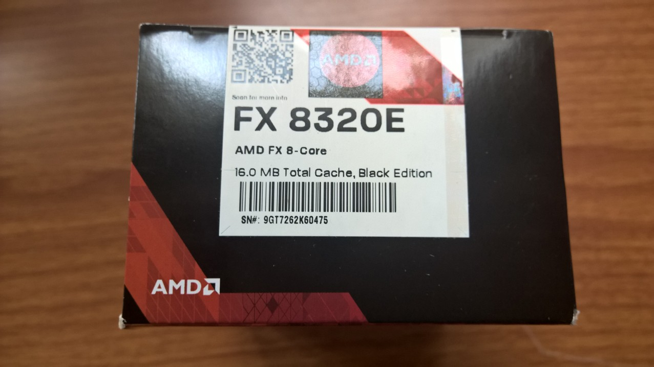 Photo of AMD FX-8320E Vishera 8-Core 3.2GHz (4.0GHz Turbo)
