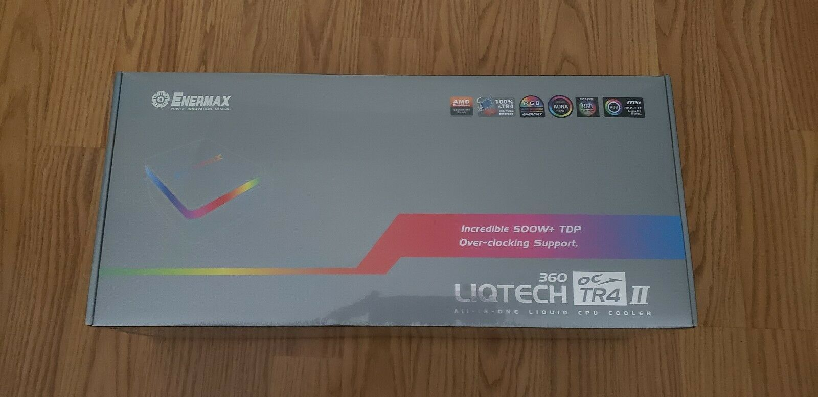 Photo of Enermax Liqtech II TR4 360mm AIO RGB TR4 Cooler.NEW!