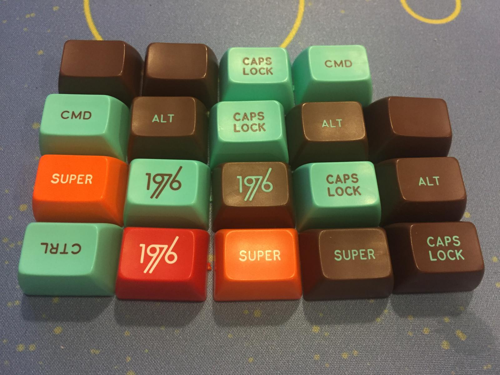 Photo of SA 1976 Grab Bag Keycaps
