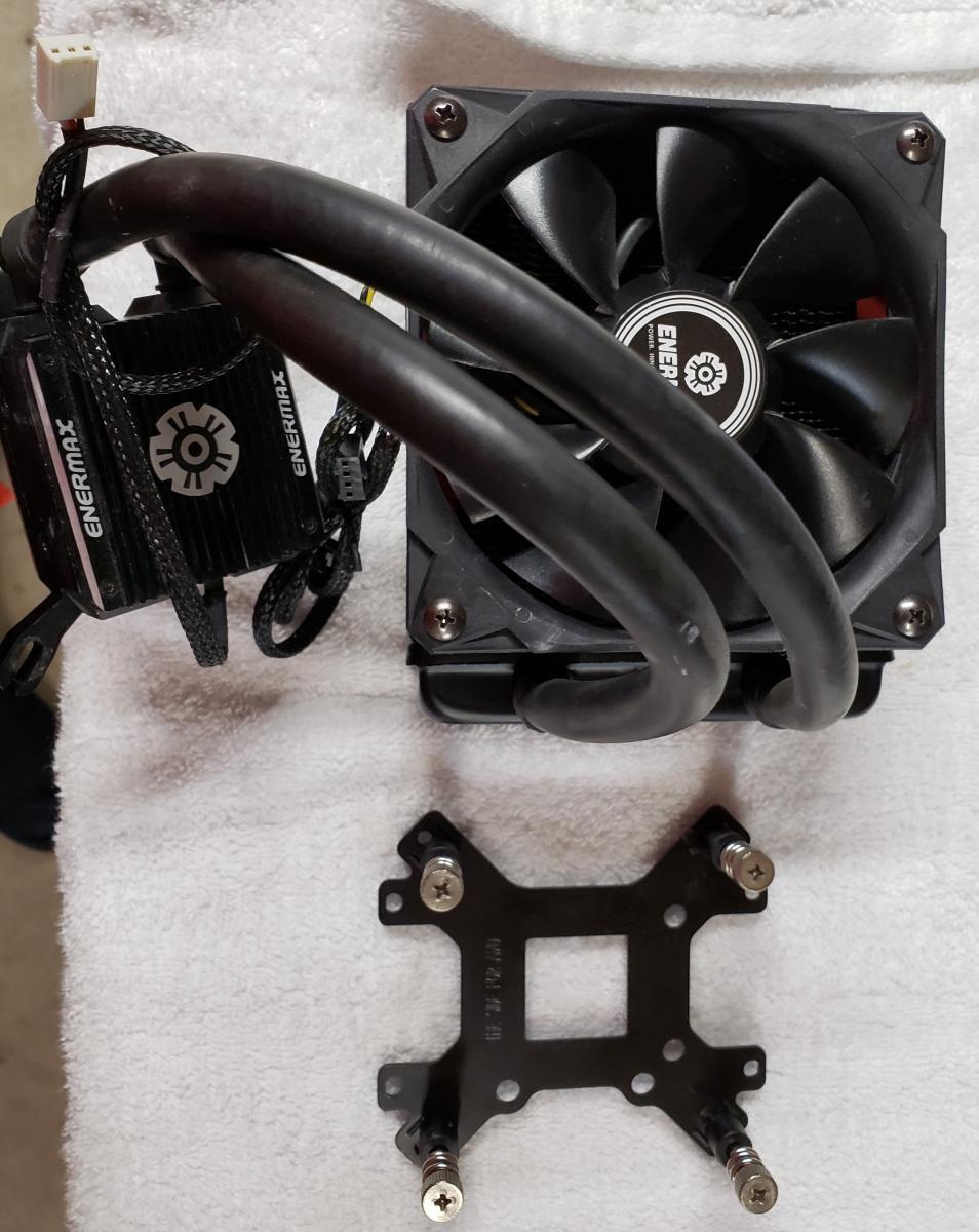 Photo of Enermax 120mm AIO Cooler w/stock Fan