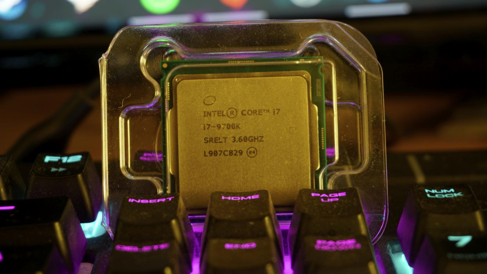 Photo of Intel i7-9700k