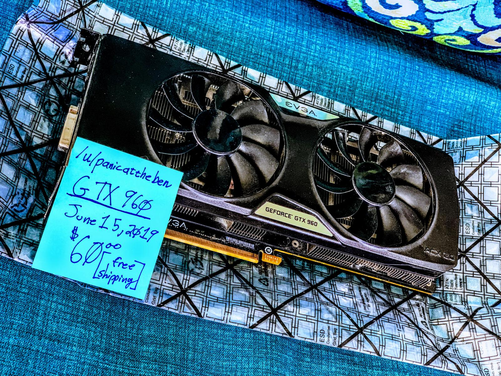 Photo of EVGA GTX 960 2GB [02G-P4-2968-KR]