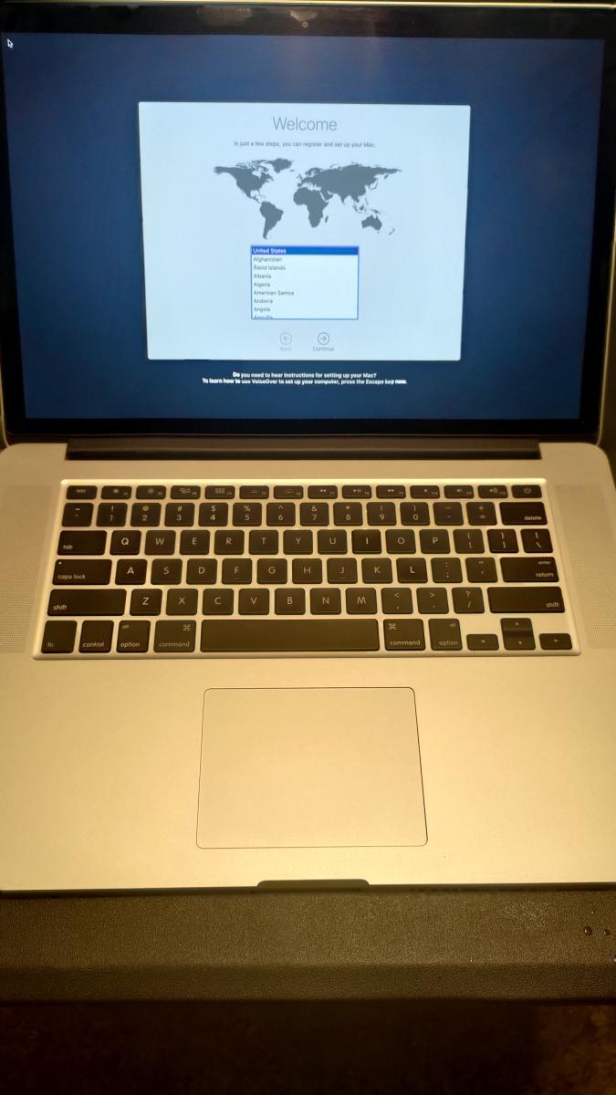 Photo of MacBook Pro 15-Inch