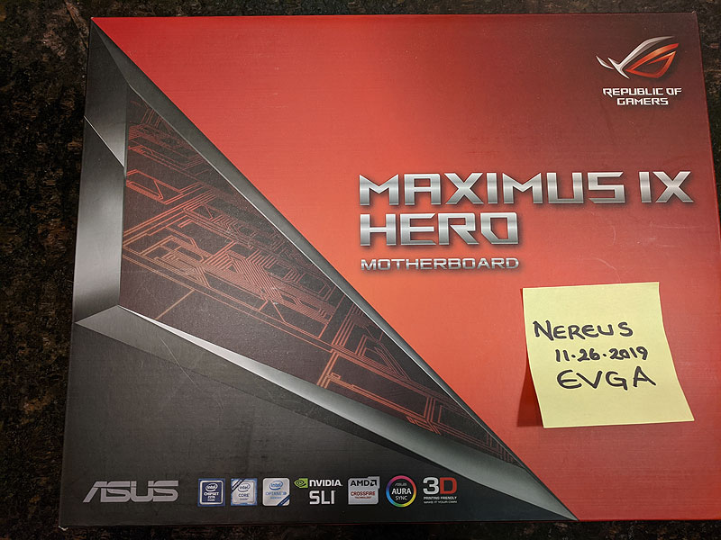 Photo of ASUS ROG MAXIMUS IX HERO – warranty to March 2020
