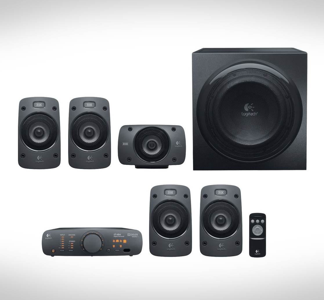 Photo of Logitech Z906 THX-Certified 5.1Ch Surround Sound Speaker System.Great.LOCAL!