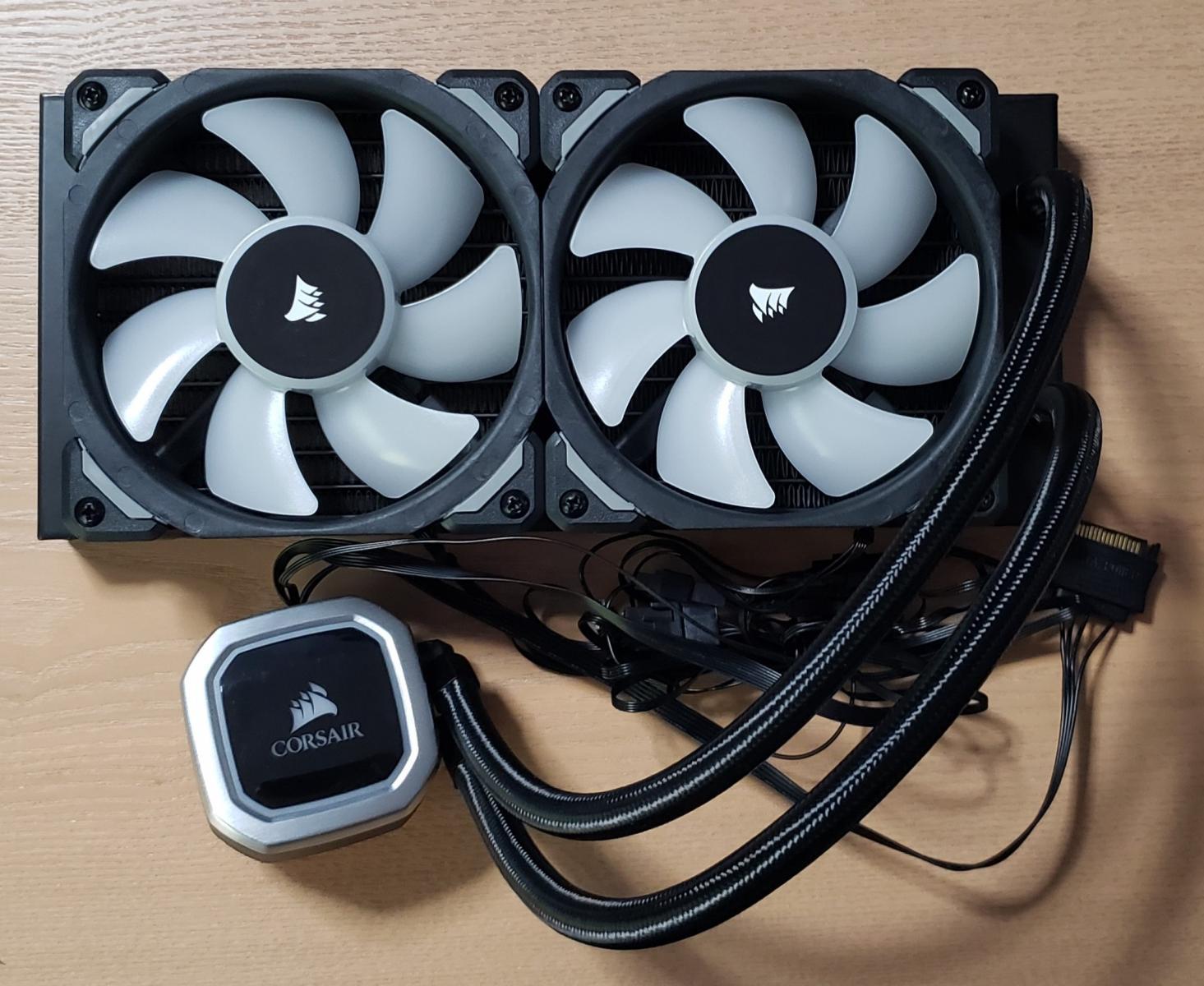 Photo of Corsair H100i RGB Platinum 240mm