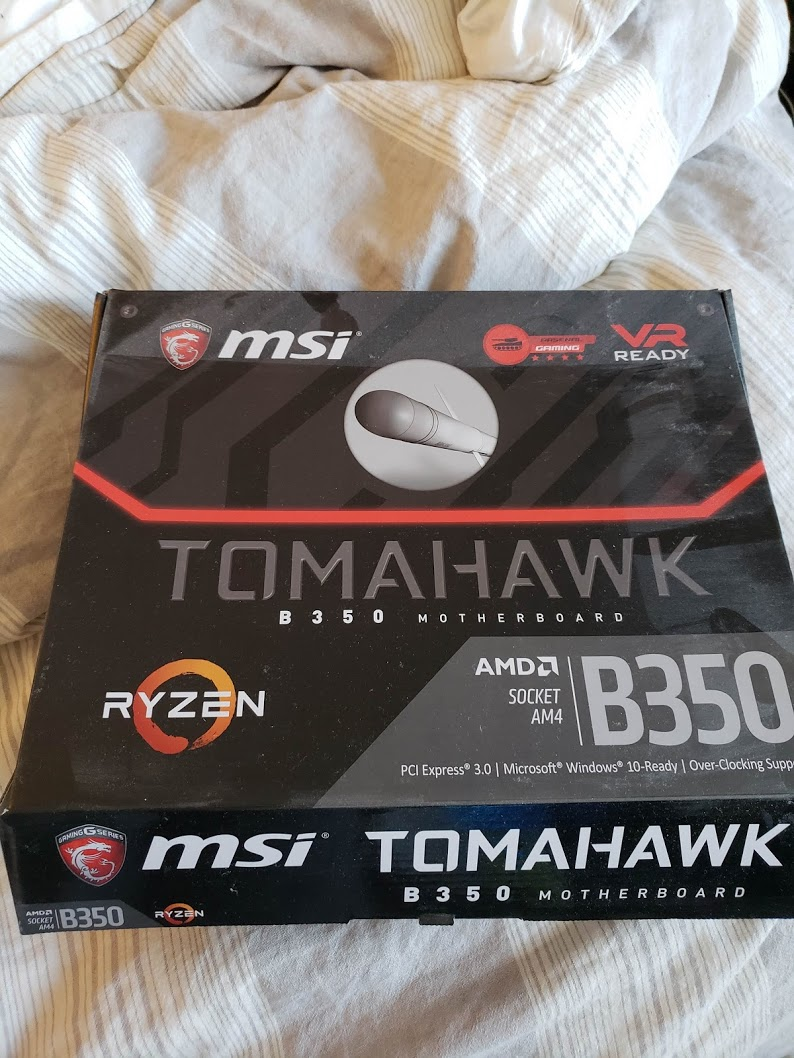 Photo of MSI B350 Tomahawk AM4 Motherboard