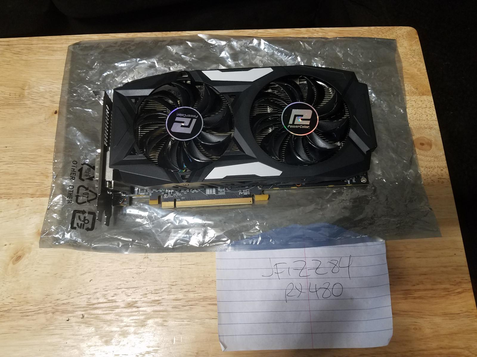 Photo of Powercolor RX480 4GB