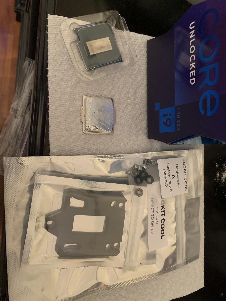 Photo of 2x Intel 11900k