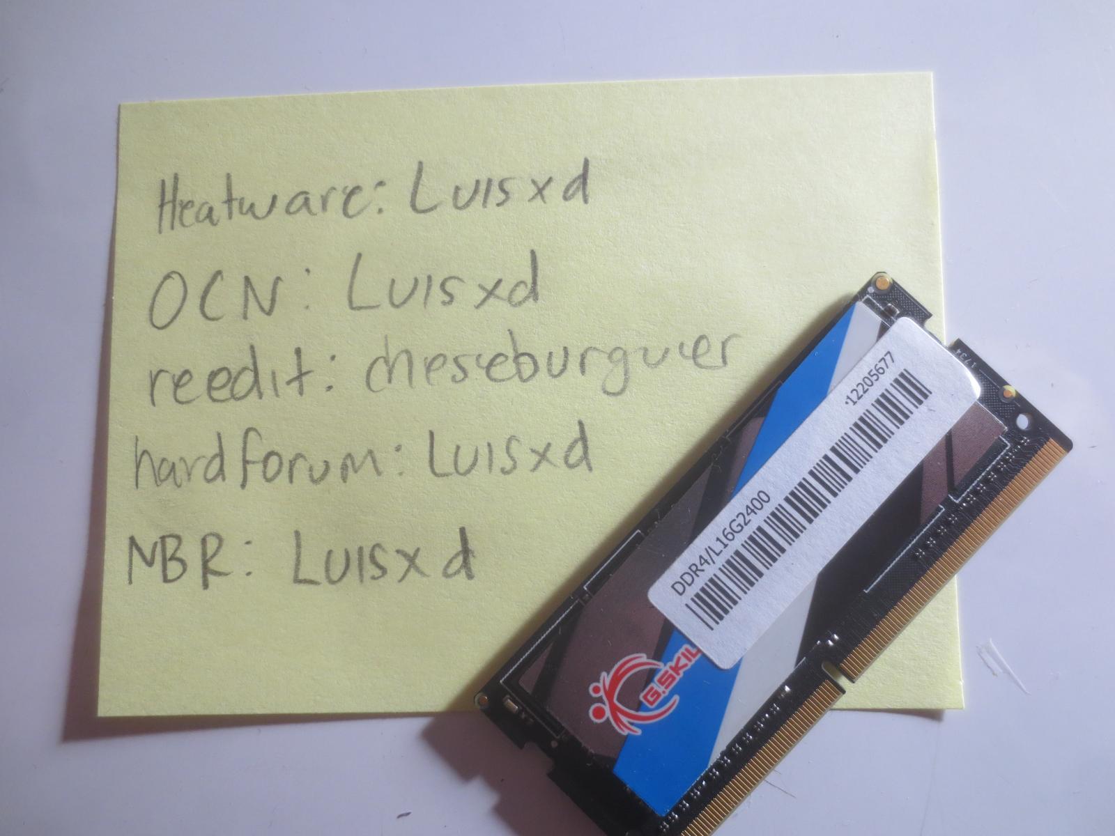 Photo of G.Skill RIPJAWS SODIMM DDR4 2400 Mhz 16GB
